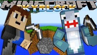 Minecraft Games - Sharky & Scuba Steve - SKYBLOCK FARM!!