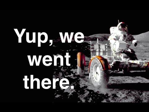 Cientistas provam que o homem esteve na lua