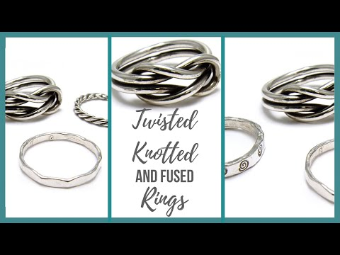 Twisted, Knotted and Fused Rings Tutorial - Beaducation.com