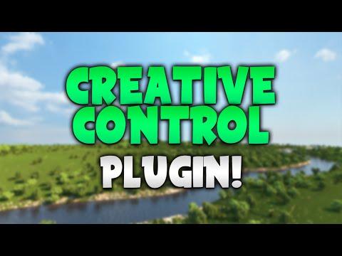 CREATIVE CONTROL! | Minecraft Plugin Tutorial