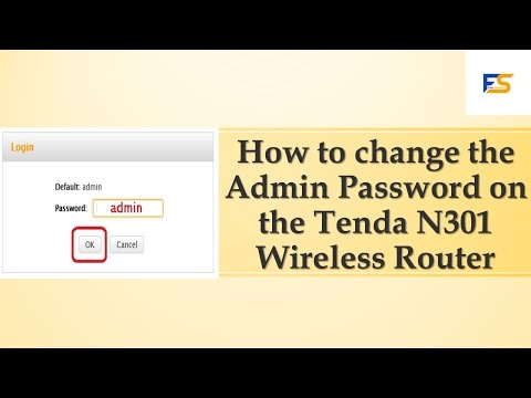 How to Change Tenda Router Admin Password | How to Change Tenda Router Password