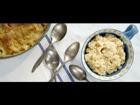 How to make a Baked Rice Pudding - LeGourmetTV Recipe