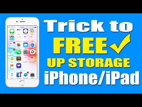Trick: How to Free Up Storage on Your iPhone/iPad Without Deleting any Photos or Videos.