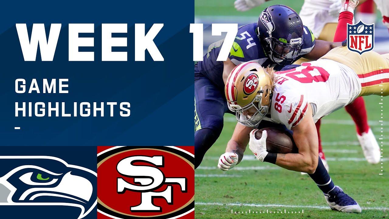 Seahawks vs. 49ers Week 17 Highlights | NFL 2020