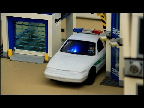 A story for kids about police chasing street racer