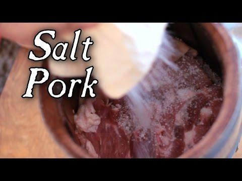 Preparing Salt Pork - 18th Century Cooking Series S1E5
