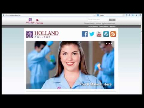 Accessing Student Email at Holland College