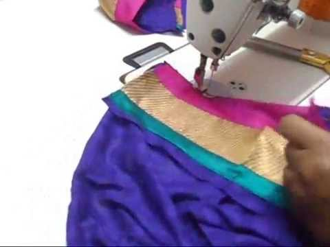 How to Cut lining for the ready made Anarkali suit