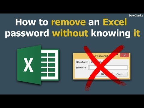 How to remove an excel password without knowing it (Easy Way)