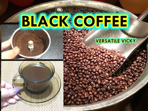 Black Coffee for Weight Loss | How to Make Black Coffee