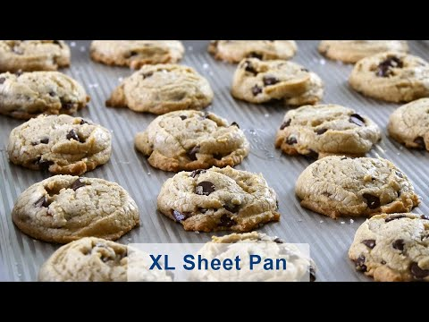 USA Pan Chocolate Chip Sea Salt Cookies
