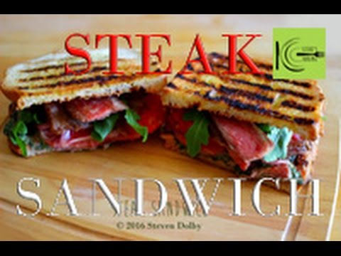 Cracking Steak Sandwich | stevescooking
