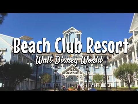 A Tour of the Beach Club Resort at Walt Disney World!