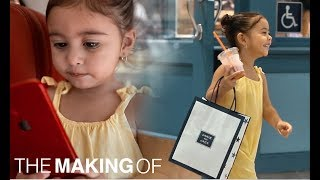 ELLE'S FIRST VIDEO! *the making of* BTS