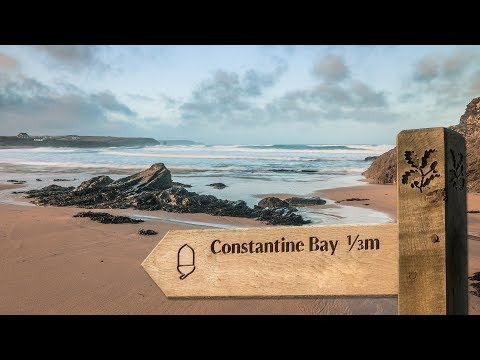 Constantine Bay in Cornwall