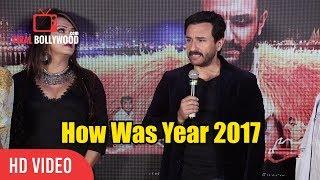 How Was Year 2017 For U   Saif Ali Khan Reaction   Viralbollywood