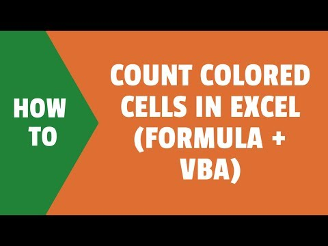 Count Cells Based on Background Color in Excel
