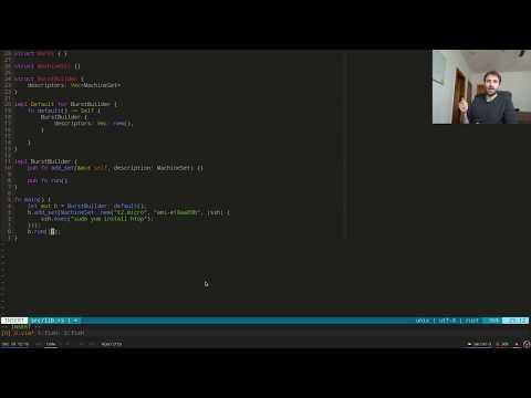Live-coding a Rust crate for short EC2 jobs (part 1)