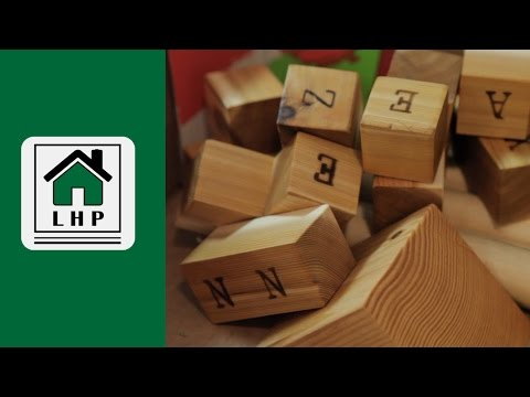 Home Made Custom Wooden Building Blocks - LHP - Part 1 of 2