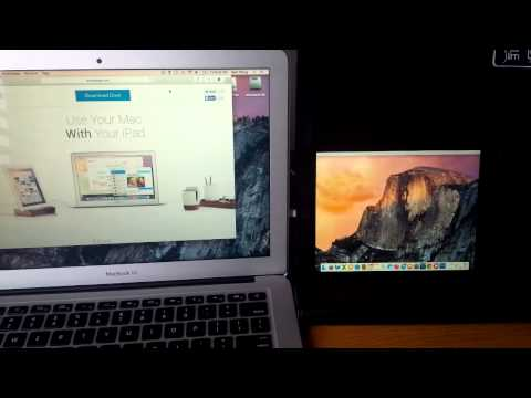 Duet Display - Use Your iPad as a Second Monitor for your Computer