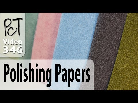 Polymer Clay Polishing and Sanding Papers