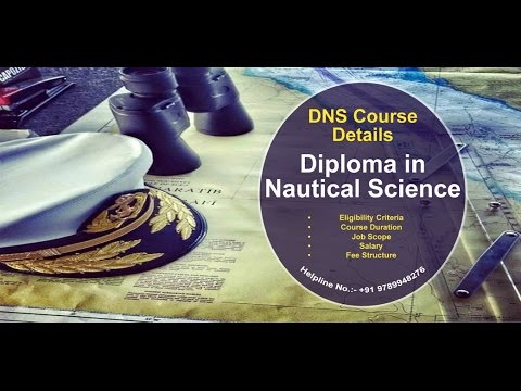 DNS (Diploma in Nautical Science) Course   Merchant Navy   After 12th