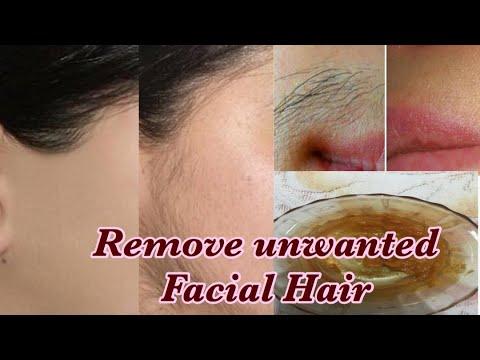 * No Gelatin, No Wax, No Shaving!!! * Remove Facial Hair at Home in 10 minutes | Amazing Tips 4 U