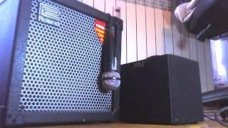 homemade tube amp VS Cube Roland Cube 30