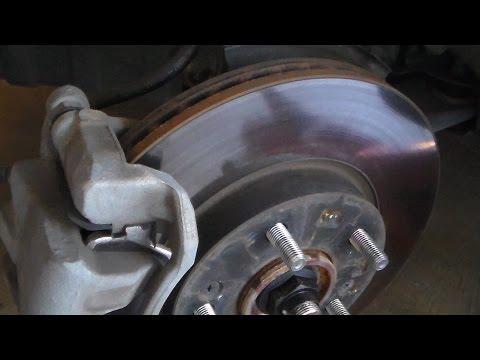 Kia Forte 2014 brake pad replacement