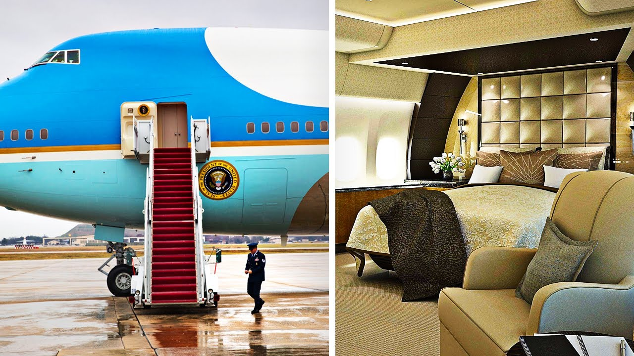 Inside The $3.2 Billion Air Force One