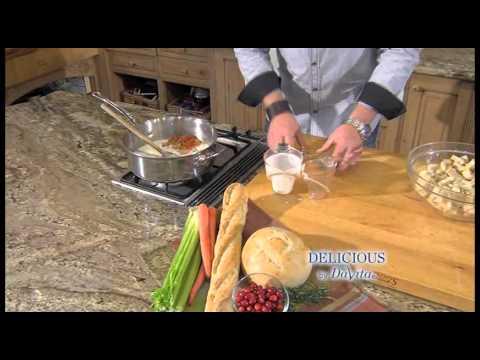 Delicious by Davita: Savory Bread Pudding