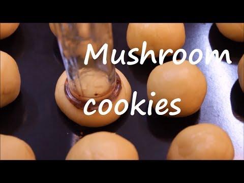 Mushroom cookies recipe