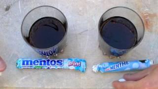 Cola - Mentos : Les coulisses de la réaction