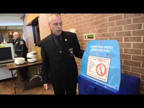 Drop off unwanted prescription drugs at 13 secure boxes