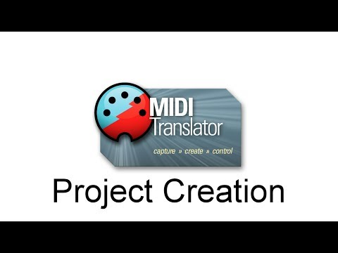 Bome MIDI Translator Pro - Project Creation