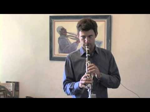 Clarinet Voicing Exercise
