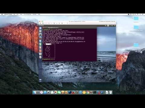 Generating ssh keys on Ubuntu