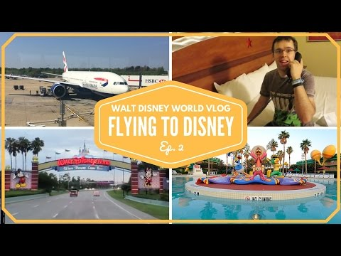 Walt Disney World Vacation April 2015 | Flights to Orlando | Episode 2