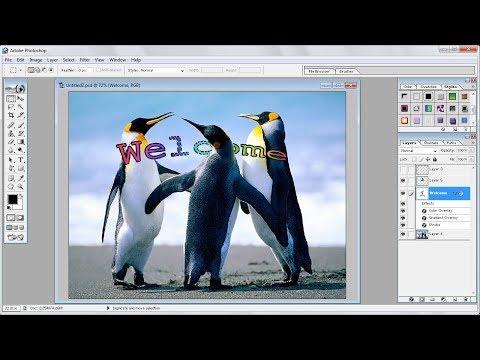Tutorial Photoshop |Cara Membuat Efek Teks Anda Sendiri di Belakang Objek Foto di Photoshop