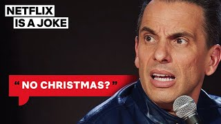Sebastian Maniscalco Tried To Baptize His Jewish Baby | Netflix Is A Joke