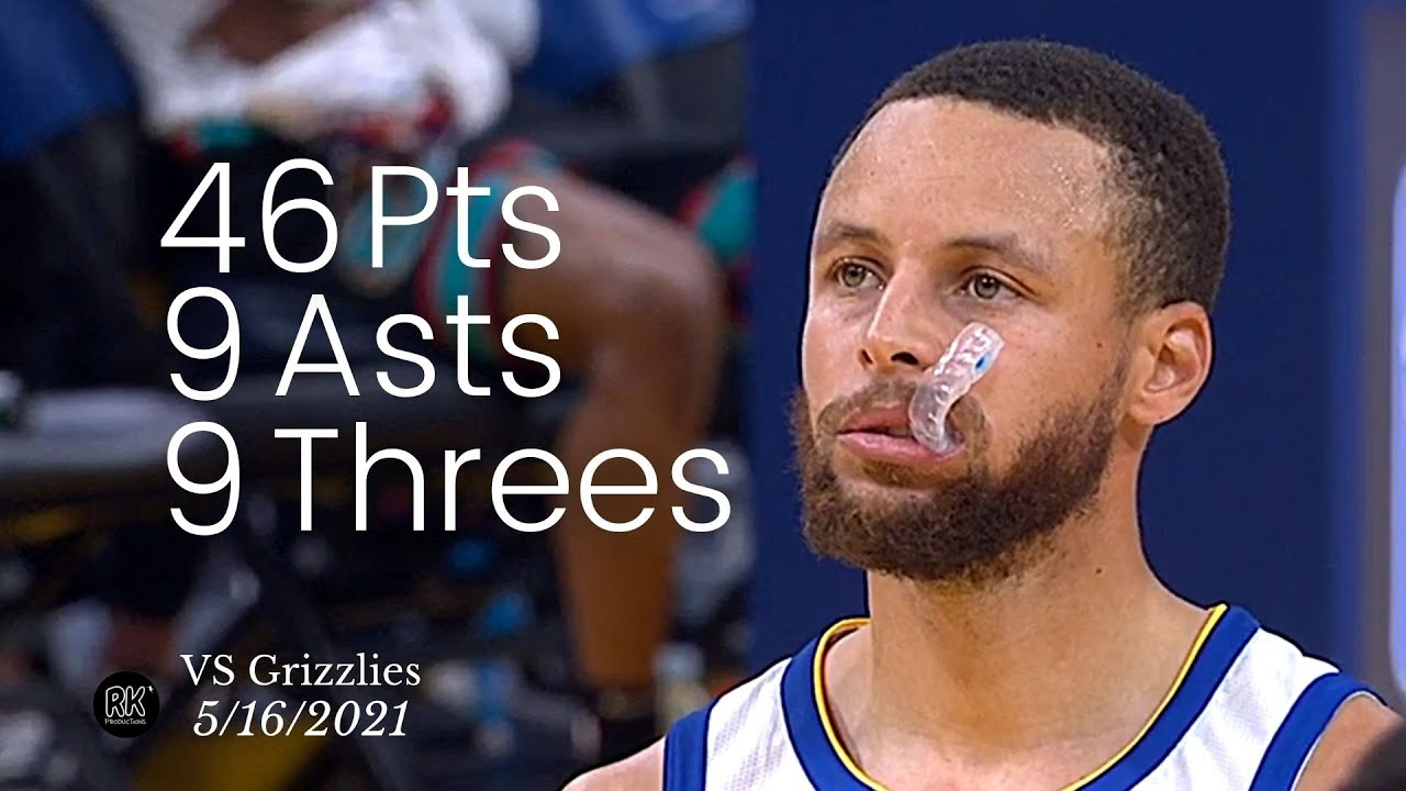 Stephen Curry 46 Pts, 9 Asts, 9 Threes vs Grizzlies | FULL Highlights