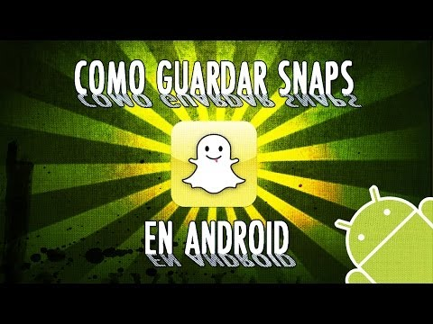 Como guardar Snapchats en Android | Snapchat Save Pics | No Root (Gratis)