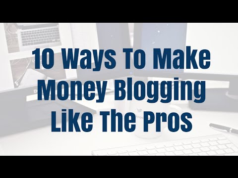 10 Make Money Blogging Tips For Beginners 2016