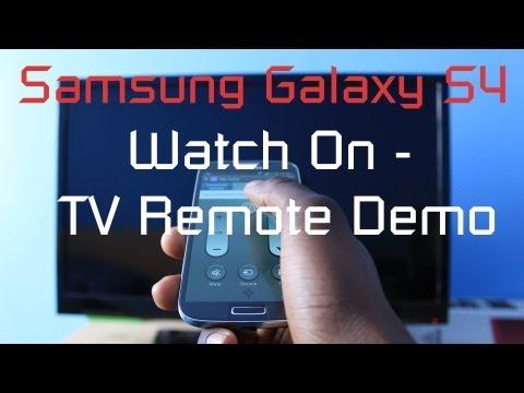 Samsung Galaxy S4 - Watch On - TV Remote Demo