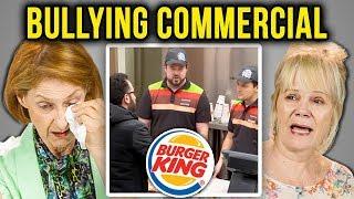 ELDERS REACT TO BULLYING (Burger King   Bullying Jr.)