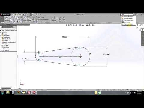 SOLIDWORKS - Sketch Tips: Managing Arcs and Circles