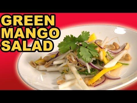 Green Mango Salad w/ Chili Lime Vinaigrette