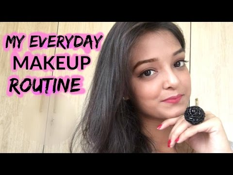 My everyday makeup routine| indian youtuber