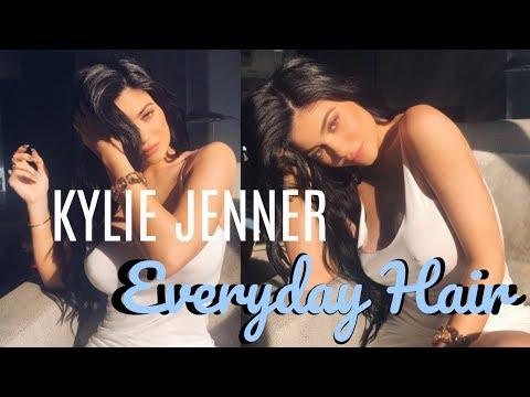 KYLIE JENNER HAIR TUTORIAL | Everyday Voluminous Curls ft. Bellami Hair Extensions