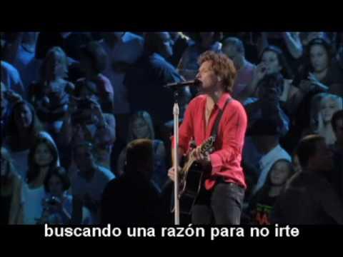 Make a Memory - Bon Jovi Subtitulado Subtítulos Español